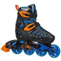 Patins Infantil Inline Roller Derby Tracer Boy Ajustável -