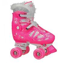 Patins Infantil Princess Para Meninas Ajustável 32 a 36 - Roller Derby -