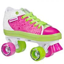 Patins Infantil Quad Roller Derby Zinger Girl -