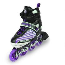 Patins Inline Freestyle Tamanho 33 Ahead Sports Roxo