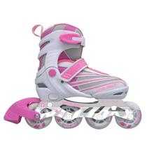 Patins Inline Freestyle Tamanho 35 Ahead Sports Rosa