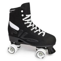 Patins Logo Black Abec 5 Mindblower - Fila Skates -