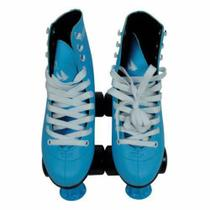 Patins Quad Roller 4 Rodas 37 Azul Discovery Adventures Yins
