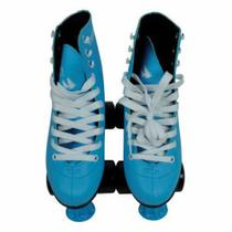 Patins Quad Roller 4 Rodas 38 Azul Discovery Adventures Yins