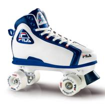 Patins Quad Smash Branco e Azul 37 - Fila - Froes