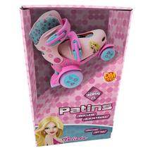 Patins Roller Ajustavel Belinda 4 Rodas Tamanho 27-30 DM TOYS DMR5874 -