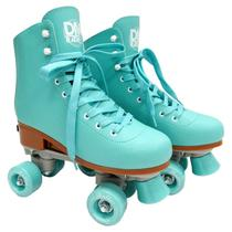 Patins Roller Feminino Ajustável Mar - Dm Toys -
