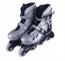 Patins Roller In-line Cinza Regulável 34 A 37 - Fenix