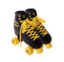 Patins Roller Quad Batman Vinil Infantil - 35 - Warner