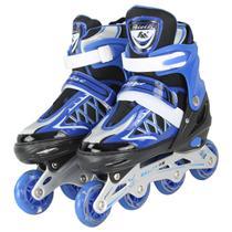 Patins Roller Semi-Pro Azul RegulÃvel - Tander