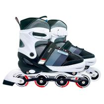 Patins Roller Semi Profissional 38 Ao 41 Cinza 40600142 Mor