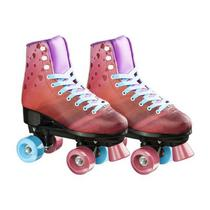 Patins Rollers 4 You Quad Tam. 37 Rosa Multikids - BR924 -