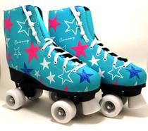 Patins Tradicional Roller Have Fun Estrelas - Convoy -