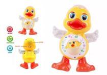 Pato Dançante Brinquedo Musical Dança Anda Mexe Luz E Som - Toys -