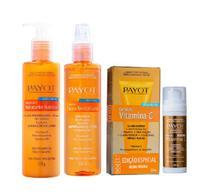 Payot Complexo Vitamina C Sérum Anti-Idade 30ml+Tônico Facial 220ml+Loção Hidratante Corporal 210g -