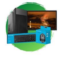 PC Completo Core I7,8GB RAM,HD 500GB+SSD 120GB,Monitor 19 - Chip7 Informática