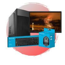 Pc Completo Intel Pentium,4GB RAM,HD 500GB+SSD 120GB,Monitor 19 - Chip7 Informática