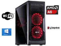 Pc Cpu Amd 3.8ghz + 4gb + SSD 120GB + Wifi + Brindes - Viniki lupi info