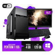 PC DE MESA COMPLETO Intel Pentium 1155, 4GB RAM DDR3, SSD 120GB  ! OFERTA - Chip7 Informatica