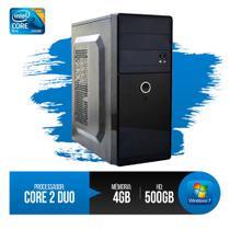 PC DE MESA Intel Core 2 Duo, 4GB RAM DDR3, HD 500GB  OFERTA - Chip7 Informatica