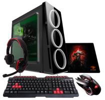 PC G-FIRE AMD A10 9700 8GB 1TB Radeon R7 2GB Integrada Computador Gamer GKAC HTG-284 -