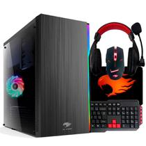 PC G-FIRE AMD A6 7400K 4GB 500GB Radeon R5  1GB Integrada Computador Gamer  EVF-K HTG-126 -