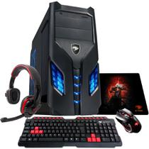 PC G-FIRE AMD A6 7400K 8GB 1TB Radeon R5 2GB Integrada Computador Gamer GKAC HTG-268R -