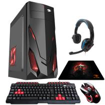 PC G-FIRE AMD A6 7400K 8GB 1TB Radeon R5 2GB Integrada Computador Gamer GKAC HTG-271