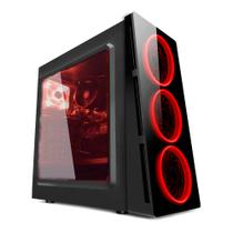 PC G-FIRE AMD Ryzen 5 2400G 3.9GHz 8GB 1TB Radeon RX Vega 11 2GB integrada Computador Gamer HTG-216