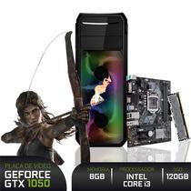 PC Gamer 3green Intel Core i3 9100F 8GB DDR4 ASUS Optane 16GB + SSD 120GB Geforce GTX 1050 2GB -