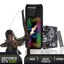 PC Gamer 3green Intel Core i5 9400F 8GB DDR4 ASUS SSD 120GB + 16GB Optane Geforce GTX 1050 Ti 4GB -