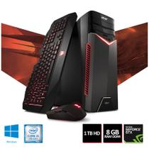 PC Gamer Acer Aspire GX-783-BR11 Intel Core i5 8GB 1TB HD GTX 1050Ti 4GB Windows 10