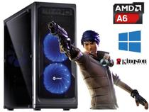 Pc Gamer Amd A4 6300 + Ddr3 8gb + Ssd 120Gb + Wifi Com Brindes - Vinix