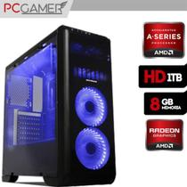 PC Gamer AMD A8 9600 8GB Ram DDR4 Radeon R7 HD 1TB - Alfatec