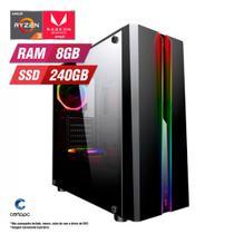 PC Gamer AMD Ryzen 3 3200G 8GB SSD 240GB CertoX Stream 6122 -