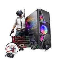 Pc Gamer Bravus Core i7 GTX 1050 16gb Hd 1tb SSD 120gb Wi-fi - Intel