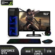 PC Gamer Completo com Monitor 19.5