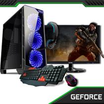 PC Gamer Completo com Monitor 21.5 Concordia Amd Fx 4300 8GB HD 1TB Placa de Vídeo 4GB DVI/HDMI/VGA - Concórdia