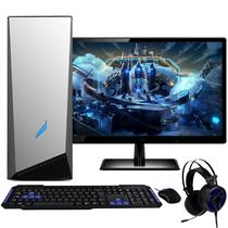 PC Gamer Completo com Monitor 21.5 Full HD 2ms LED EasyPC AMD A8 9600 8GB (Radeon R7) HD 1TB - 3green