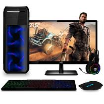 PC Gamer Completo com Monitor Full HD 21.5