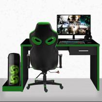 "PC Gamer Completo EasyPC FullSet Intel Core i5 8GB Geforce GTX 1050 2GB + HD 2TB + SSD + Monitor 21.5"" Full HD HDMI + Kit + Cadeira Gamer -"