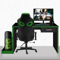 "PC Gamer Completo EasyPC Fullset Plus Intel Core i5 8GB Geforce GTX 1050 2GB + HD 2TB + SSD + Monitor 21.5"" Full HD HDMI + Kit + Cadeira Gamer + mesa -"