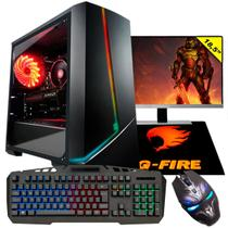 "Pc Gamer Completo G-Fire Htgw-452 Intel G5400 8Gb (Geforce GTX 1050) SSD 120Gb 18"" Windows 10 -"