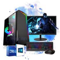 Pc Gamer Completo i5 8gb HD 500 Placa De Video Monitor Wifi - Fnew