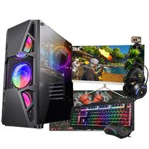 Pc Gamer Completo i5 8Gb Monitor Curvo 23.8 GTX1050 SSD480Gb - Amorim Shop