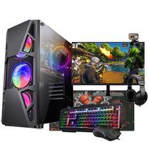 Pc Gamer Completo i5 Fonte 500w Placa GTX1050 Monitor de 27 - Amorim Shop