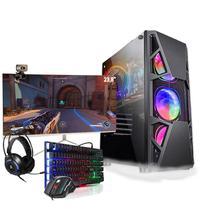 Pc Gamer Completo i5 GTX 1050 SSD 480Gb Monitor Curvo 23.8 - Amorim Shop