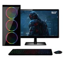 "PC Gamer Completo Monitor HDMI 19.5"" Intel Core i5 8GB HD 1TB Geforce GT 220 Quantum XTX -"