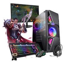 Pc Gamer Darius Completo I5 3ºGer. GTX 1050 16GB SSD 480GB - Intel