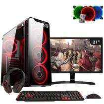 PC GAMER EASYPC COM MONITOR 21 LG 22MP58VQ INTEL I5 8GB HD 1TB GTX 1050Ti